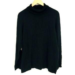 Charter Club Black Cashmere Turtleneck Sweater